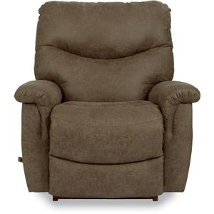 La-Z-Boy James Casual RECLINA-ROCKER® Recliner in Silt