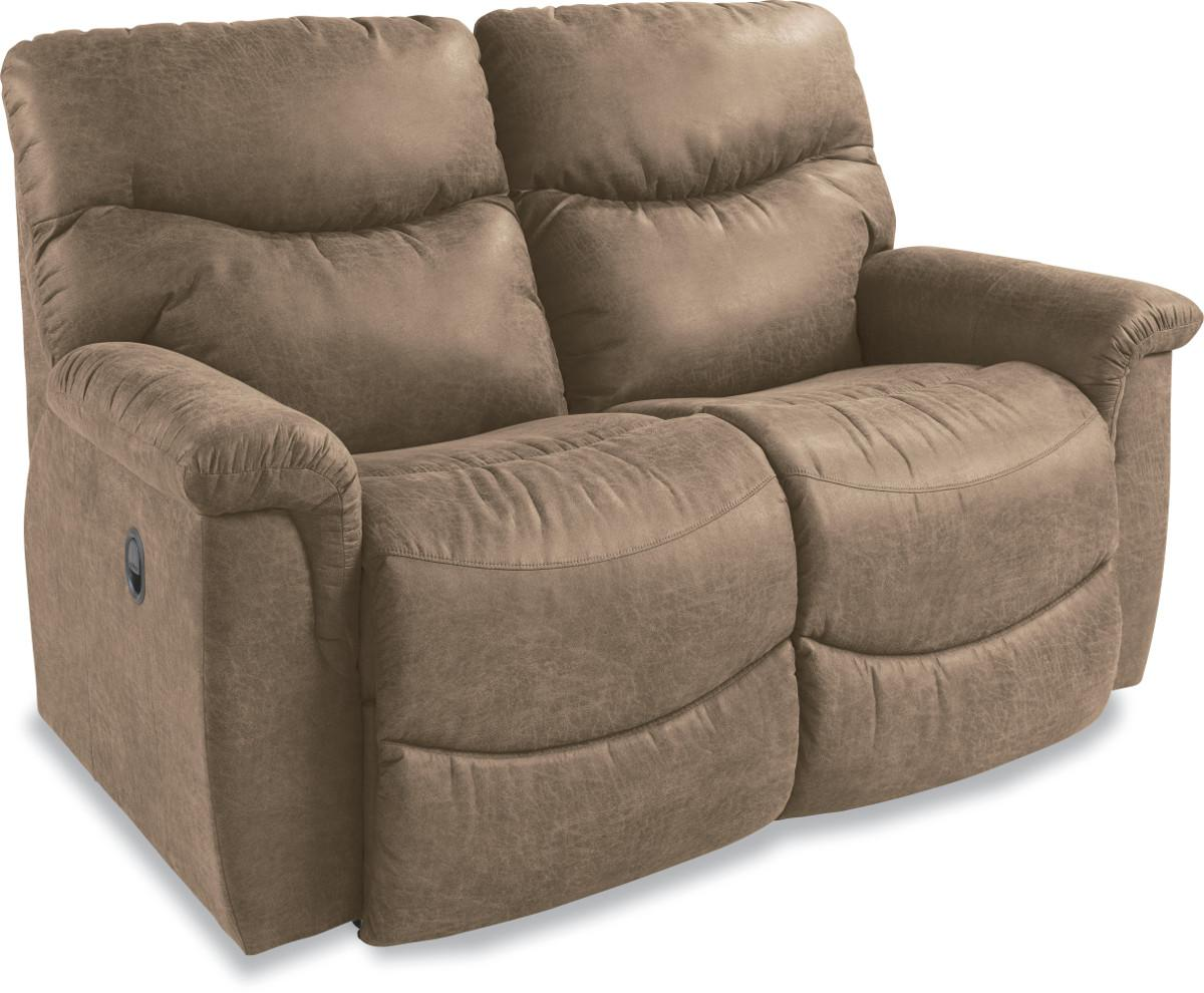 James La-Z-Time® Full Reclining Loveseat by La-Z-Boy at Reid's Furniture