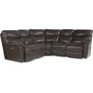 3 Pc Pwr Reclining Sectional Sofa w Pwr Head