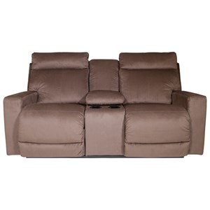 La-Z-Boy Jax Power La-Z-Time® Reclining Loveseat w/Cnsle