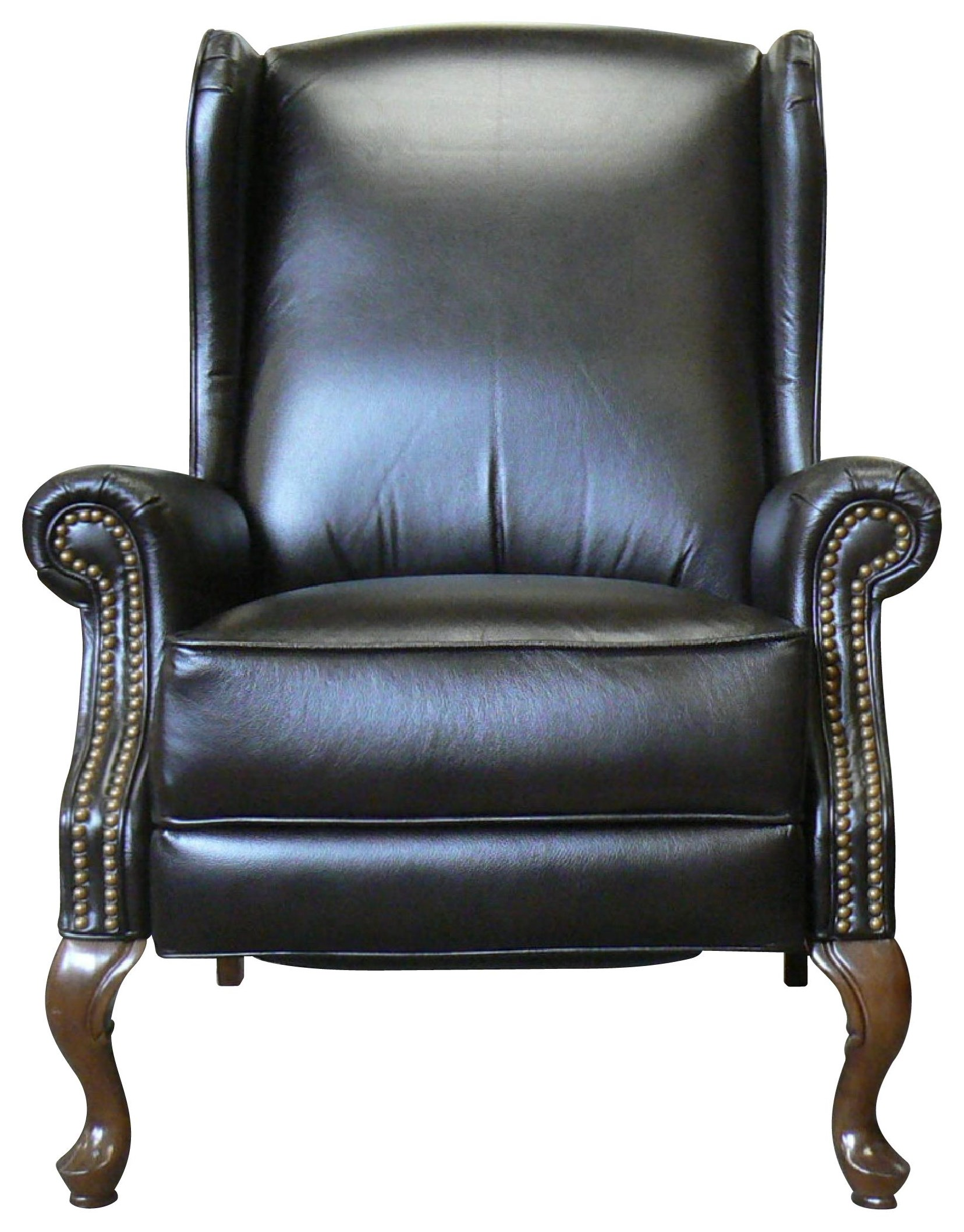 Picture of: La Z Boy Jennings High Leg Leather Reclining Chair Bennett S Furniture And Mattresses High Leg Recliners