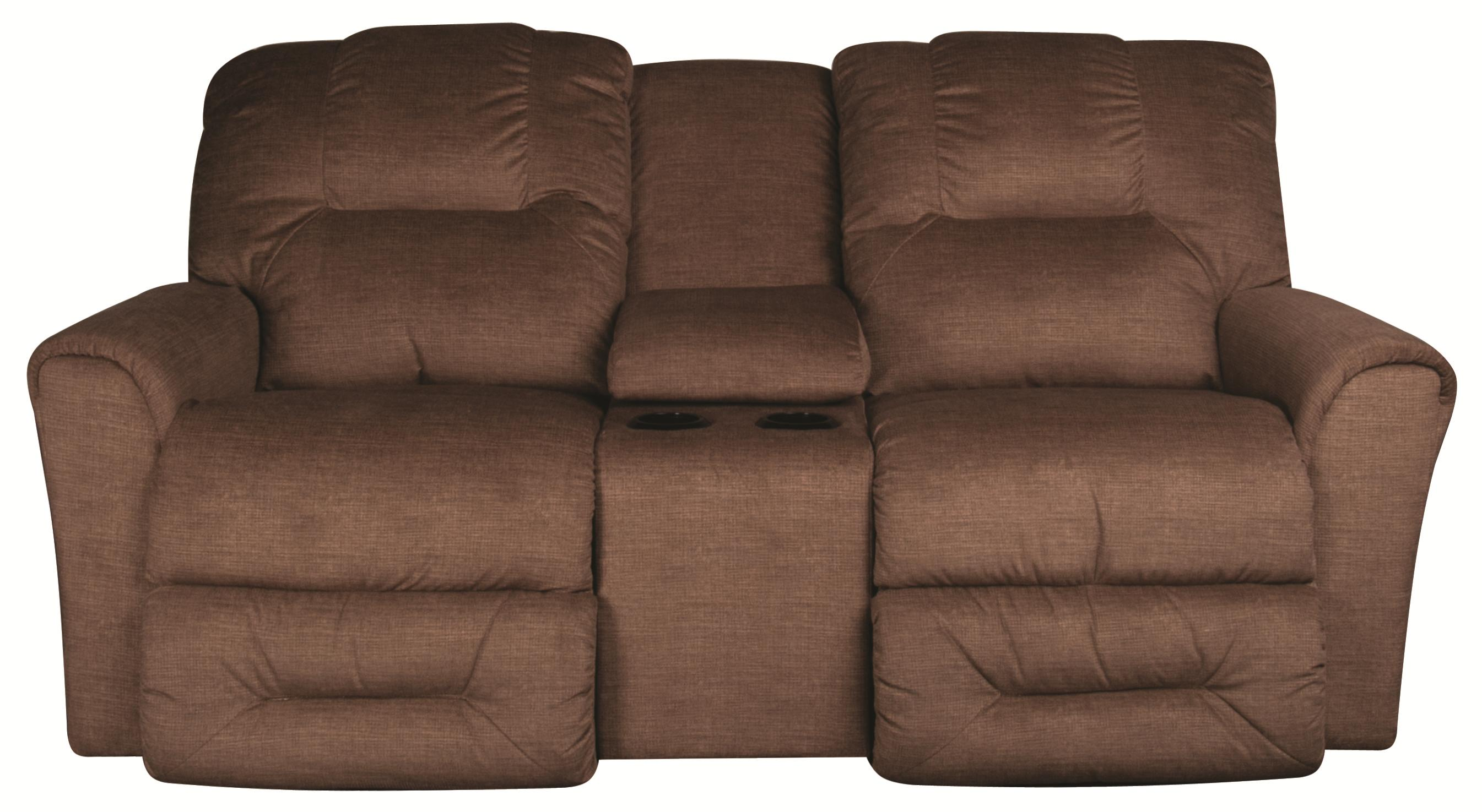Easton Reclining Loveseat with Console