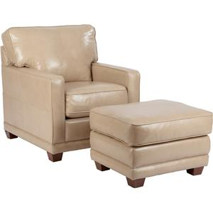 La-Z-Boy Kennedy Chair and Ottoman Set