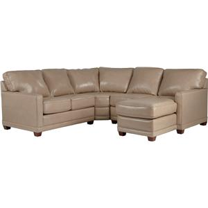 La-Z-Boy Kennedy Transitional Sectional Sofa