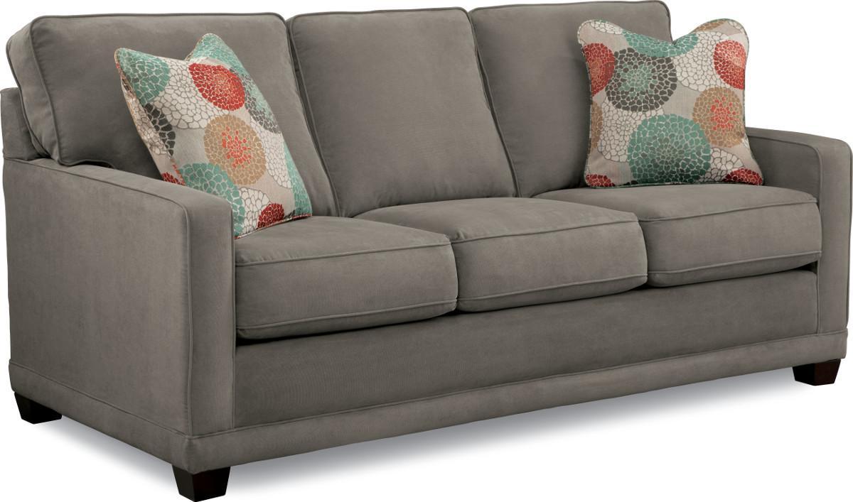 La Z Boy Kennedy 610593 Transitional Sofa With Wood Legs