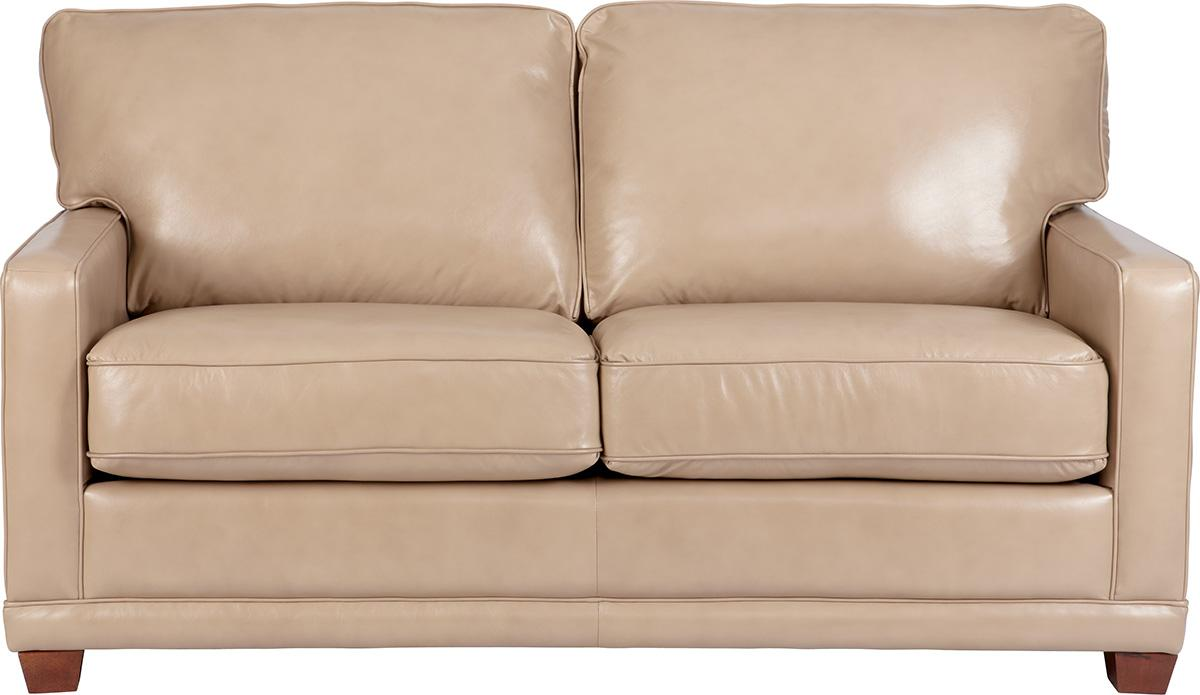 La z boy kennedy transitional apartment size sofa - Apartment size sectional couch ...