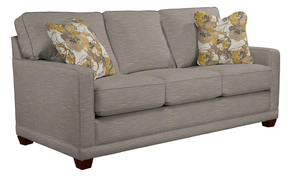 La-Z-Boy Kennedy Fog Sofa - Item Number: 610-593 C132153-P1 J145545