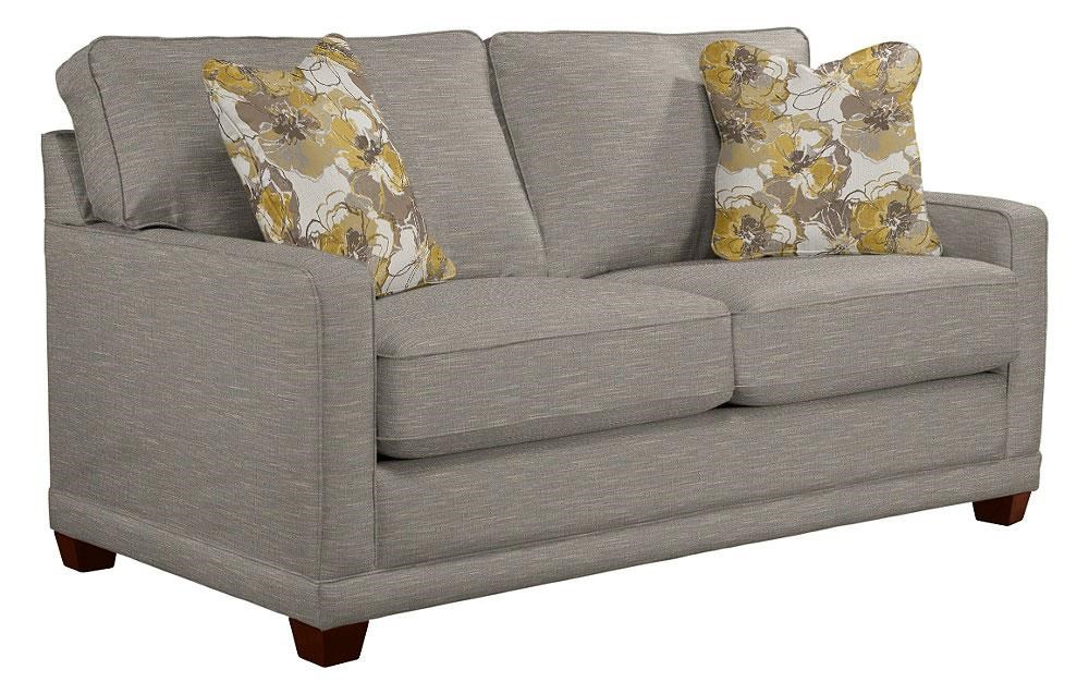 La-Z-Boy Kennedy Fog Loveseat - Item Number: 620-593 C132153-P1 J145545