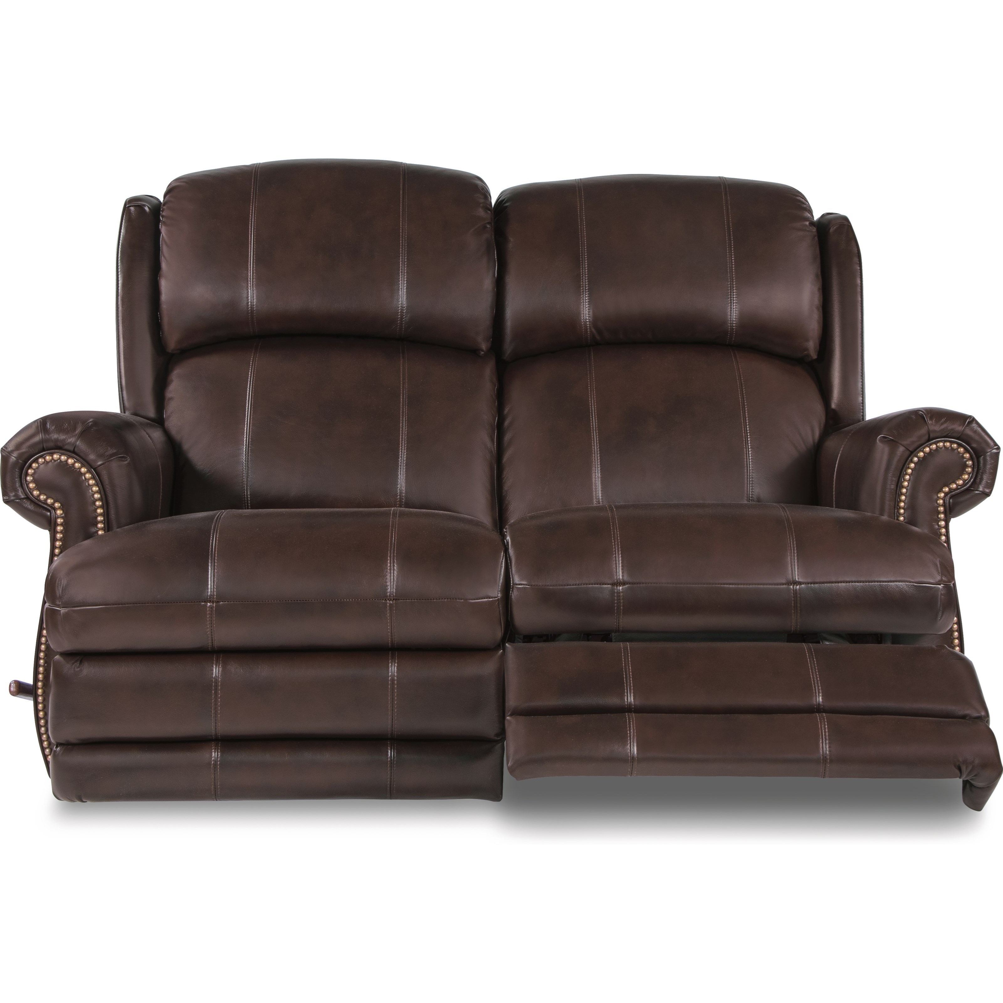 La Z Boy Kirkwood Traditional Space Saver Reclining Loveseat Morris Home Reclining Love Seats