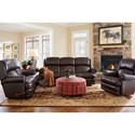 La-Z-Boy Kirkwood Traditional Space Saver Reclining Sofa