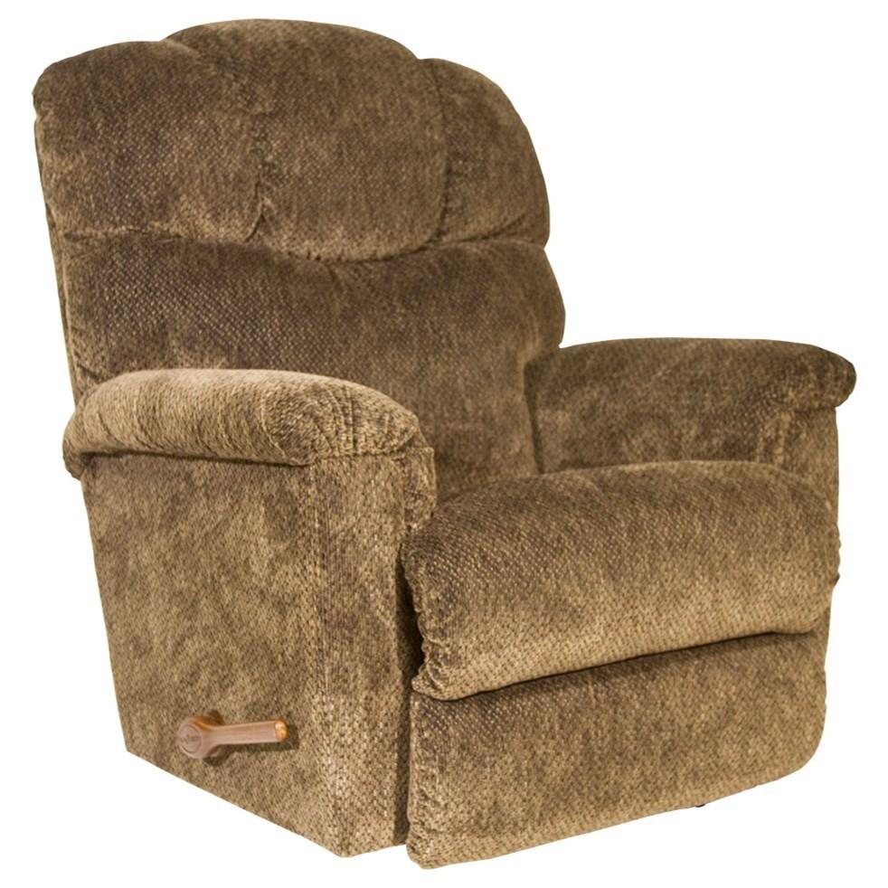 La Z Boy Lancer Reclina Rocker Reclining Chair Adcock Furniture Three Way Recliners