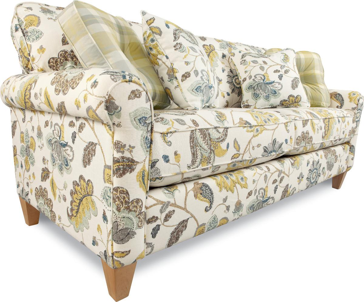 La z boy laurel sofa la z boy west lebanon nh brown for La z boy dining room tables