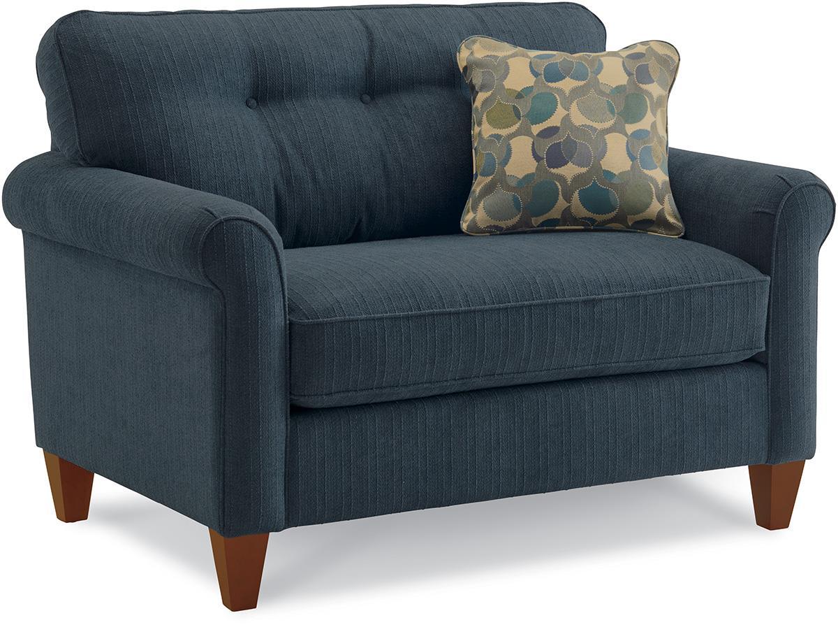 La Z Boy Laurel Oversized Chair And Ottoman Set Zak S