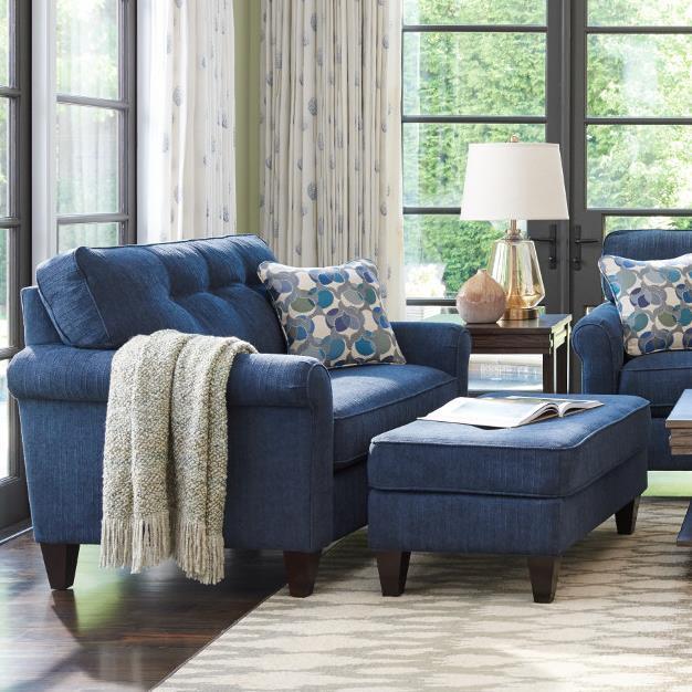 Ashley Furniture Reading Pa: Laurel Oversized Chair And Ottoman Set By La-Z-Boy
