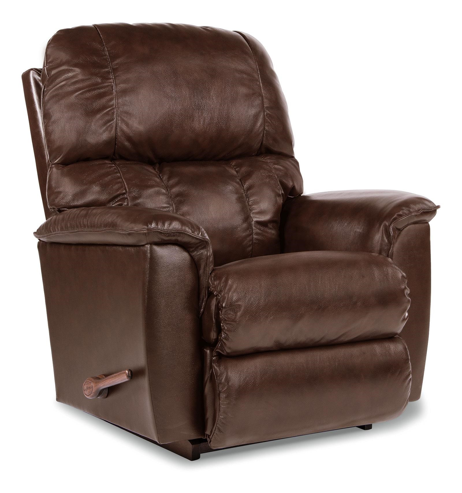 Lazy boy chair and a half recliner - La Z Boy Lawrence Leather Rocker Recliner