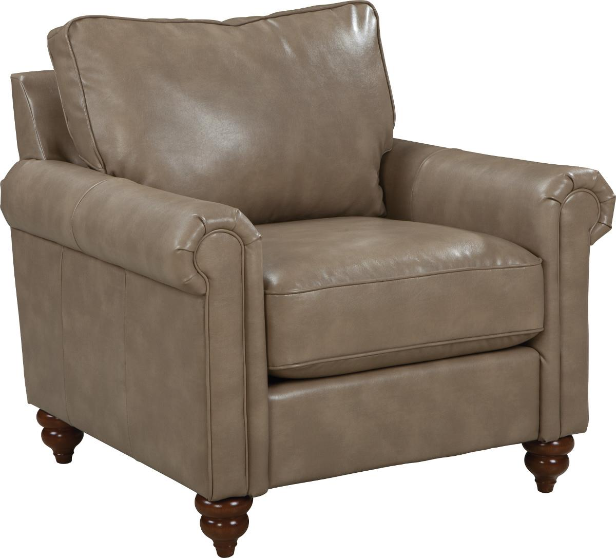 La Z Boy Leighton Traditional Rolled Arm Loveseat With
