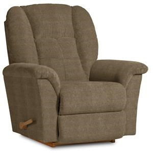La-Z-Boy Fabric Jasper Tobacco Rocker Recliner