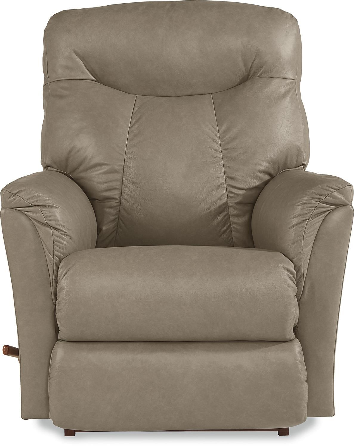 La-Z-Boy Fabric Fortune Leather Dusk Reclina-Rocker® Recline - Item  sc 1 st  Great American Home Store & La-Z-Boy Fabric Fortune Leather Dusk Reclina-Rocker® Recliner ... islam-shia.org