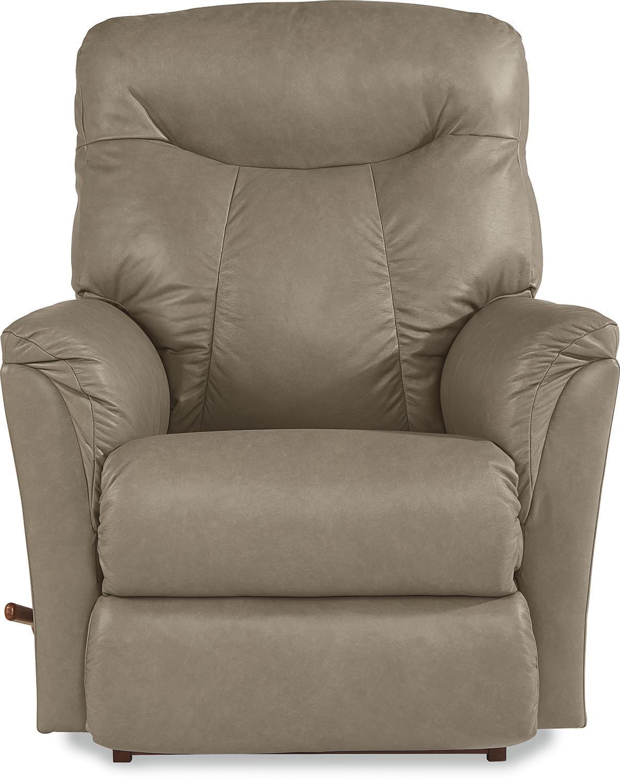 La-Z-Boy Fabric Fortune Leather Dusk Reclina-Rocker® Recline - Item Number: 010-726 LB143668