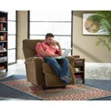 La-Z-Boy Recliners Logan RECLINA-ROCKER® Recliner - Recliner Shown May Not Represent Exact Features Indicated