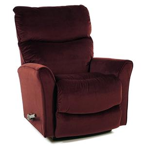 La-Z-Boy Recliners Rocker / Recliner with Flared Arms: Burgundy