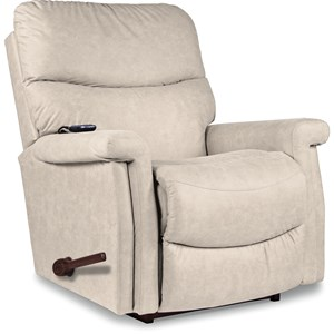 2-Motor Massage & Heat RECLINA-ROCKER® Recli