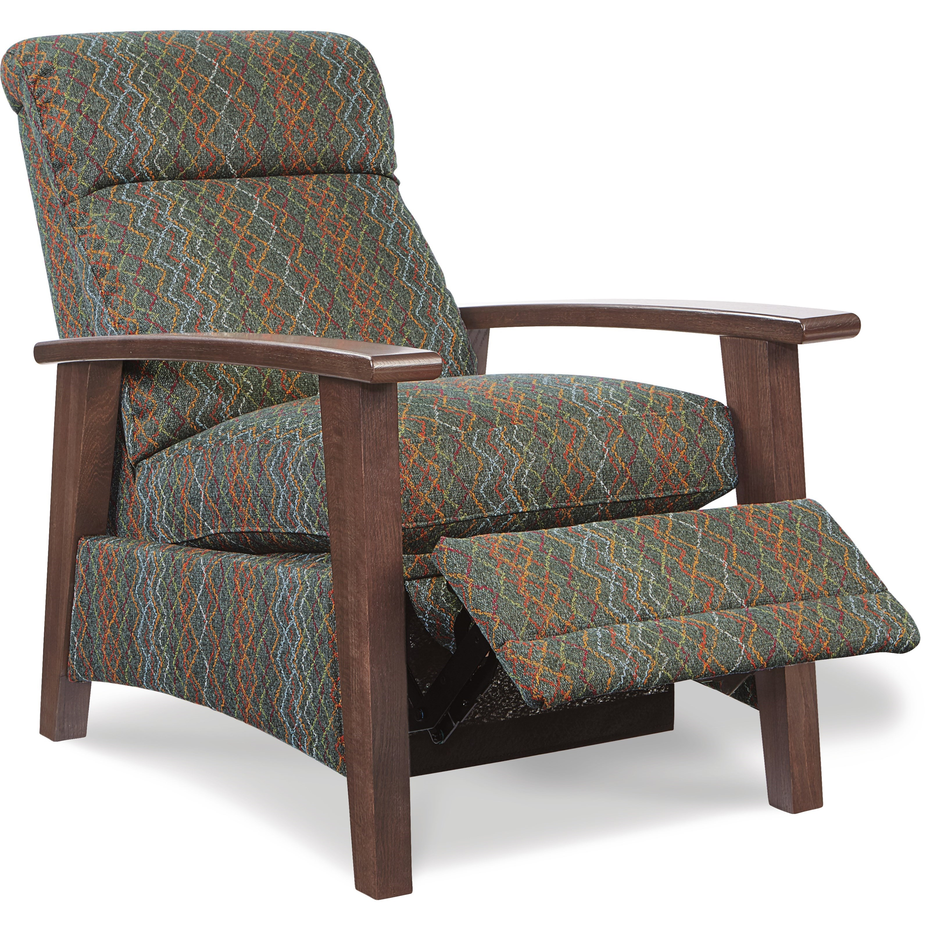 Wood Arm Recliner ~ La z boy recliners nouveau modern recliner with wood arms