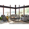 La-Z-Boy Makenna Reclining Living Room Group - Item Number: 896 Living Room Group 1