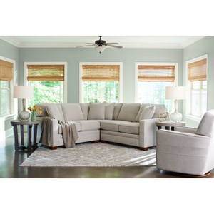 3-Pc Sectional w/ Corner