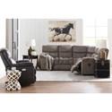 La-Z-Boy Morrison Casual 4-Seat Reclining Sectional Sofa