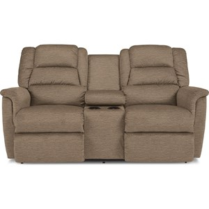 Full Console Reclining Loveseat