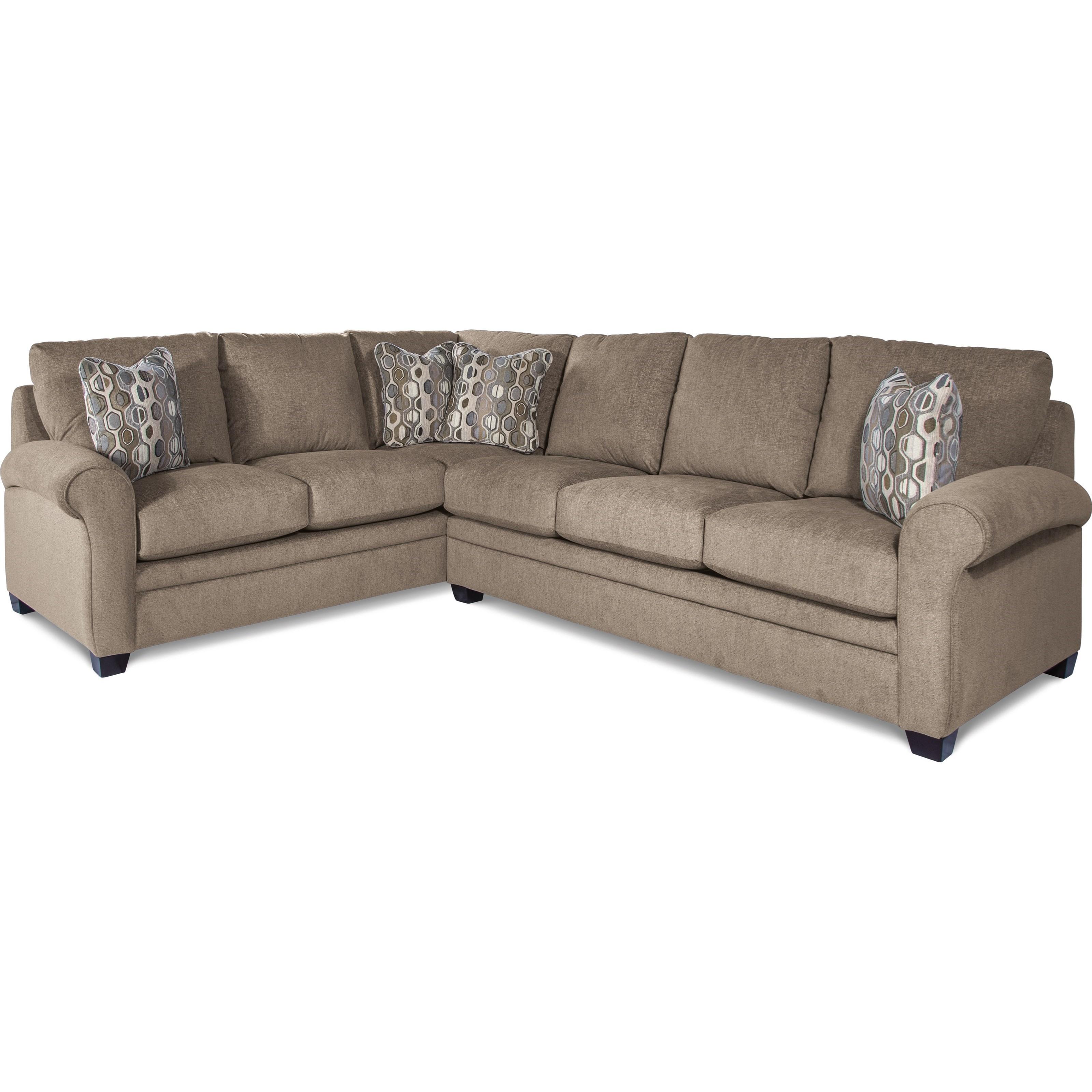 Garrett Casual Two Piece Sectional Sofa by La-Z-Boy