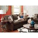 La-Z-Boy Natalie Transitional Sofa with Sock Arms