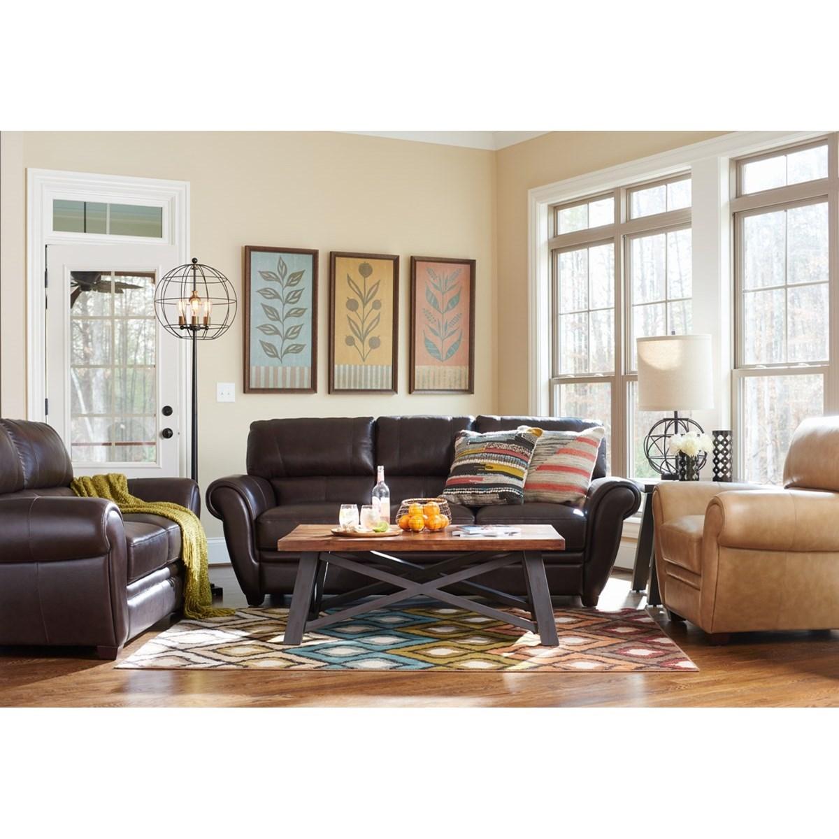 La z boy nitro living room group knight furniture for La z boy living room set