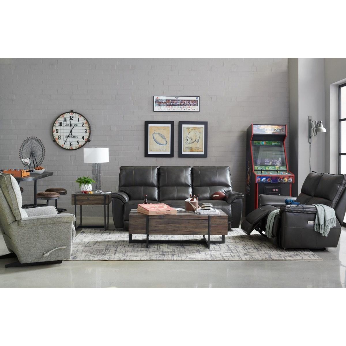 La Z Boy Norris Casual Power Reclining Sofa With Usb
