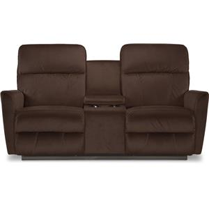 La-Z-Boy Odon Power-Recline-XRw™ Loveseat w/ Console