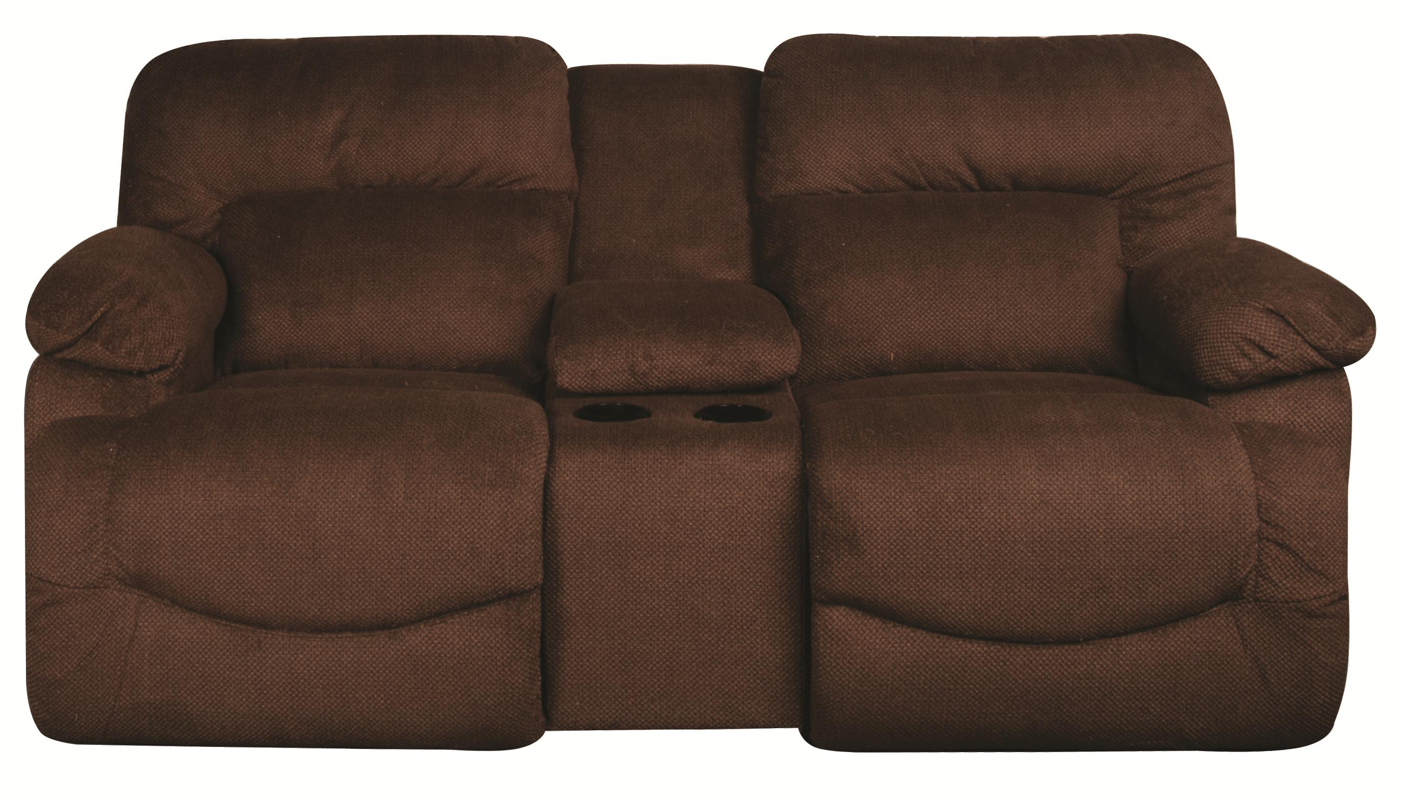La-Z-Boy Asher Asher Reclining Loveseat with Console - Item Number: 105854207