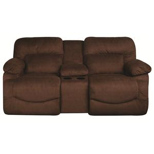 La-Z-Boy Asher Asher Reclining Loveseat with Console