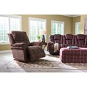 La-Z-Boy Oneal Casual PowerReclineXR Wall Saver Recliner with USB Charging Port