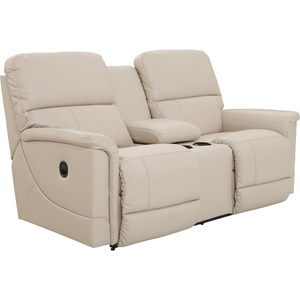 La-Z-Boy Oscar La-Z-Time® Full Reclining Loveseat w/Console