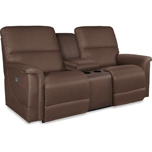 La-Z-Boy Oscar Power La-Z-Time® Full Reclining Loveseat w/C