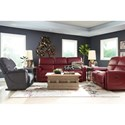 La-Z-Boy Oscar Reclining Living Room Group - Item Number: 737 Reclining Living Room Group 1