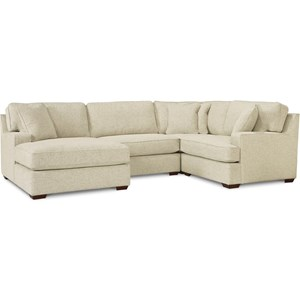 3-Seat Sectional Sofa w/ Left Chaise