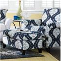 La-Z-Boy Phoebe Premier Stationary Chair and Ottoman Set - Item Number: 230637+240637F138287