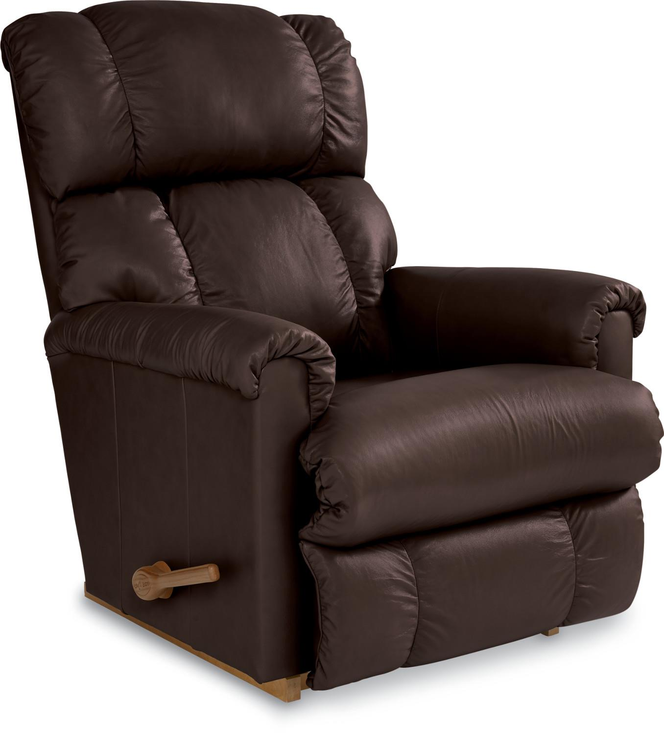 La-Z-Boy Pinnacle Expresso Leather Rocker Recliner - Item Number 010-  sc 1 st  Great American Home Store & La-Z-Boy Pinnacle Expresso Leather Rocker Recliner - Great ... islam-shia.org