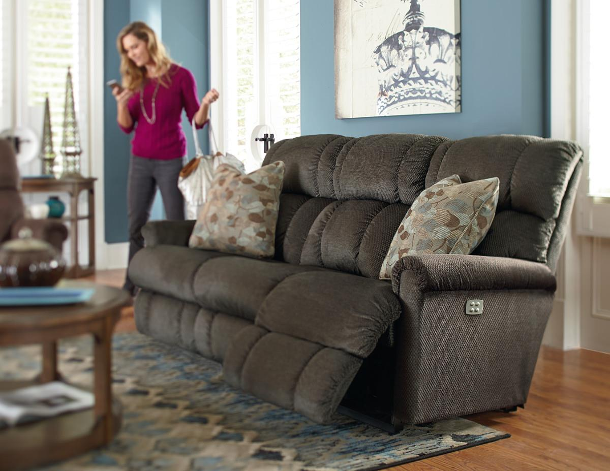 La Z Boy Pinnacle Power Recline Xrw Full Reclining Sofa