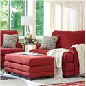 La-Z-Boy Rachel Chair-and-Half & Ottoman Set - Item Number: 655662+240662C135307