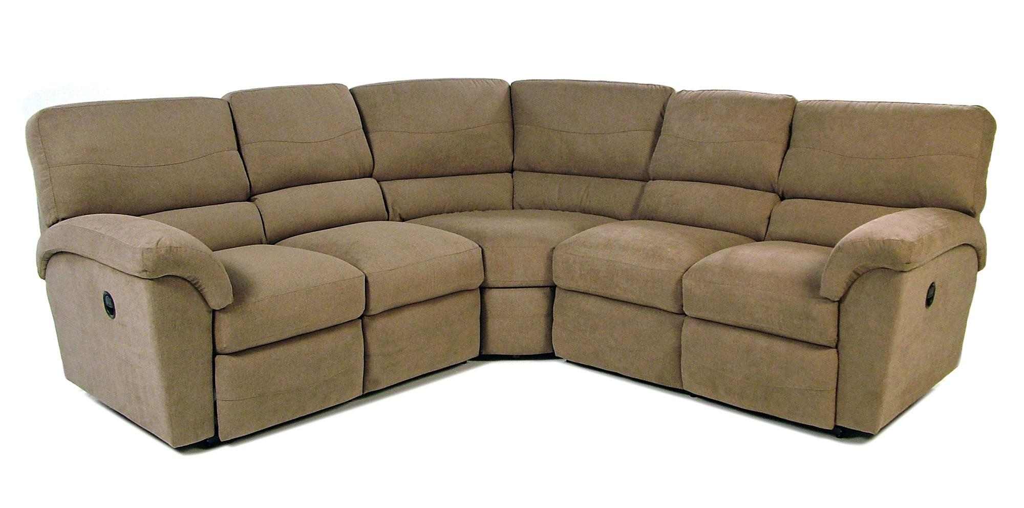 La Z Boy Tyson 3pc Reclining Sectional Rotmans Reclining