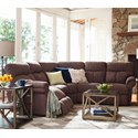 La-Z-Boy Sheldon 3 Pc Power Reclining Sectional Sofa - Item Number: 4EP750+04C+40DD142966