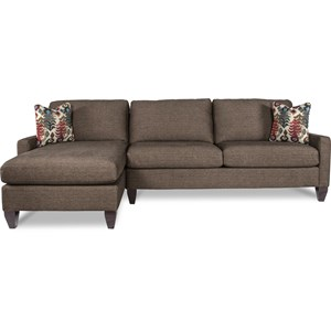 La-Z-Boy Studio 2 Pc Sectional Sofa w/ LAF Chaise